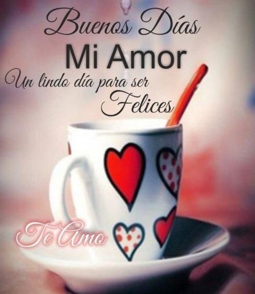 Frases De Buenos Dias Bonitas Para Tu Amor Frases Para