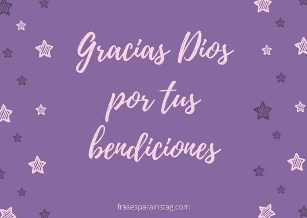 Frases Y Palabras De Agradecimiento A Dios Frases Para Instagram